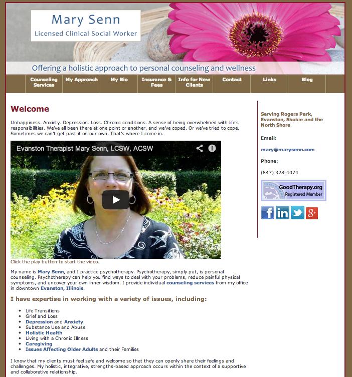 Mary Senn, LCSW, ACSW