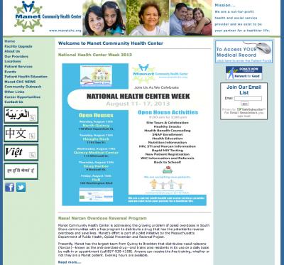 Manet Community Health Center, Inc.